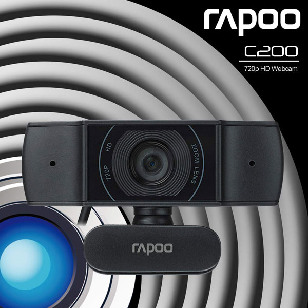 rapoo c200 hd webcam 3