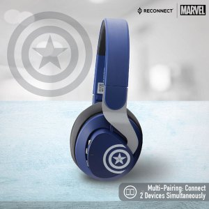 Reconnect 501 Marvel Captain America Wireless Headphone
