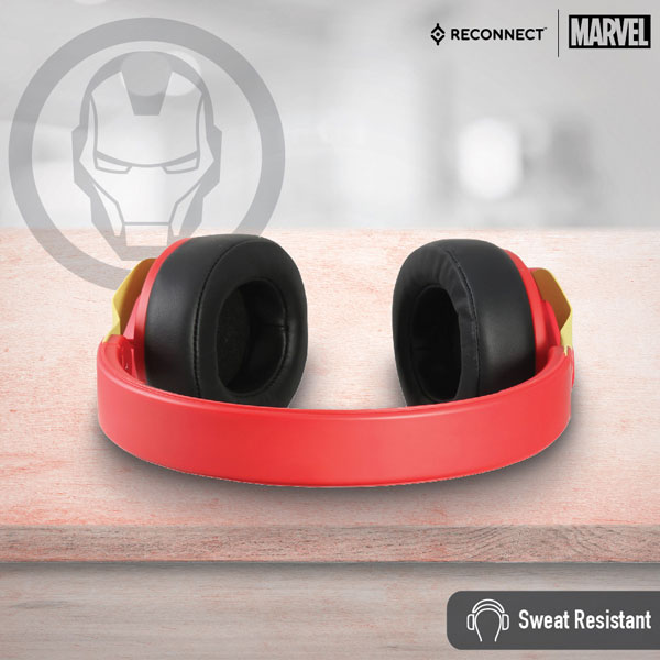 reconnect 501 marvel iron man wireless headphone 4
