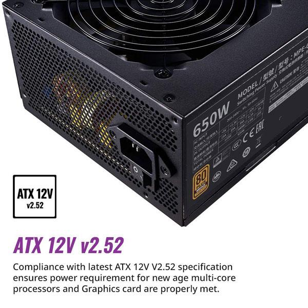 cooler master mwe 650w bronze v2 smps 4