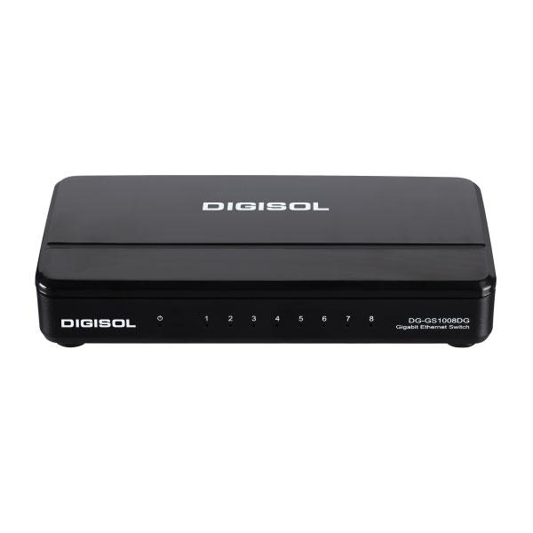 Digisol DG-GS1008DG Gigabit Ethernet Unmanaged Switch