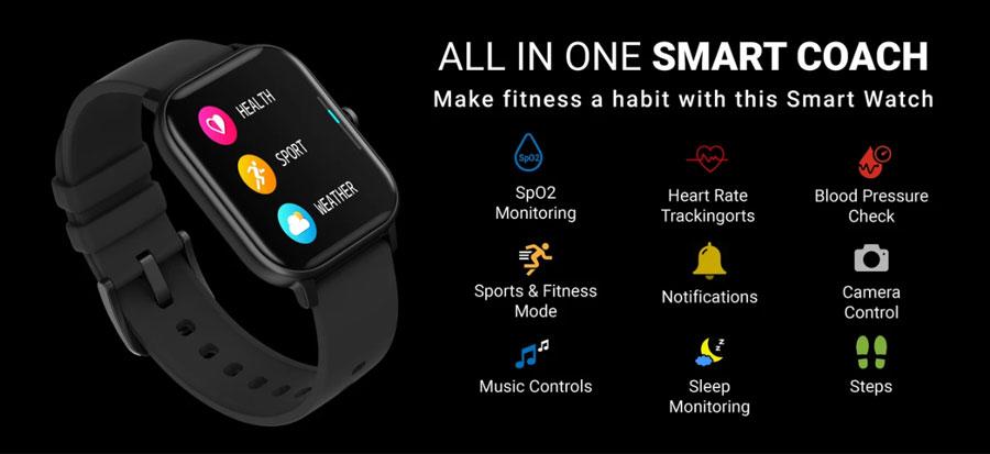 fire boltt full touch smart watch black 11