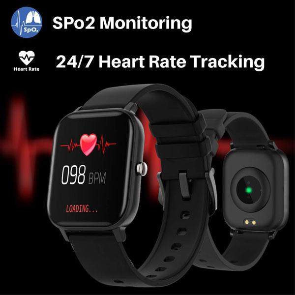 fire boltt full touch smart watch black 3