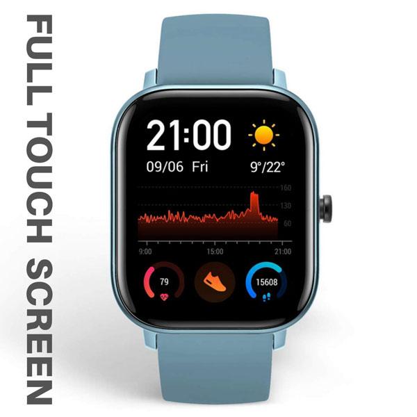 fire boltt full touch smart watch blue 4