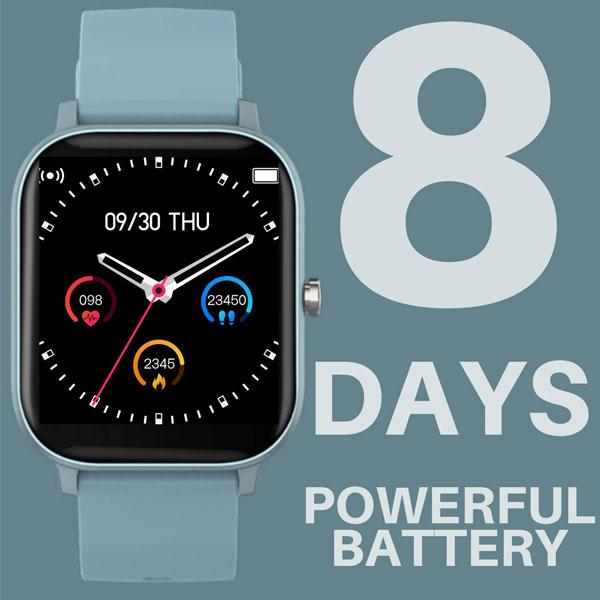 fire boltt full touch smart watch blue 6