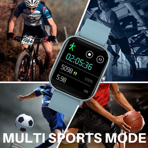 fire boltt full touch smart watch blue 7