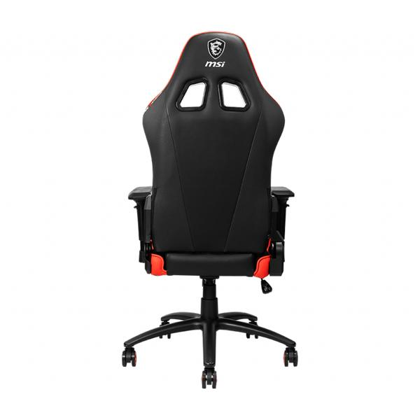 msi mag ch120 gaming chair black red 3