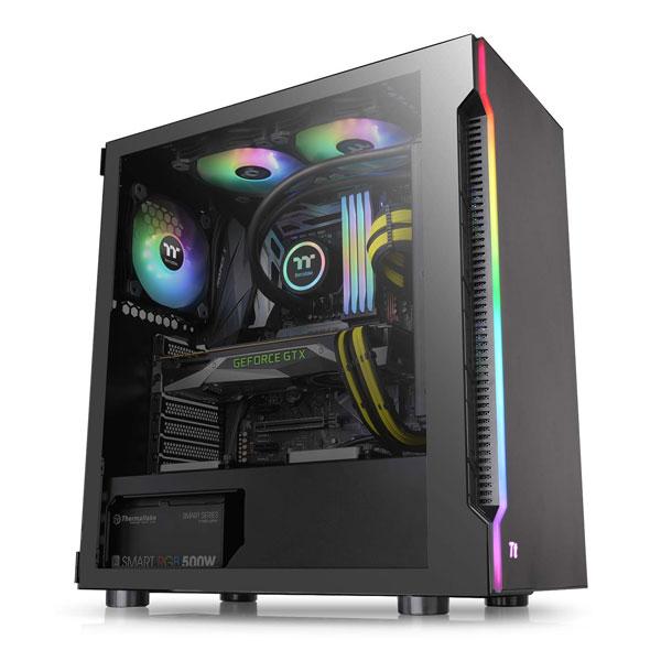 thermaltake h200tg rgb gaming cabinet 7