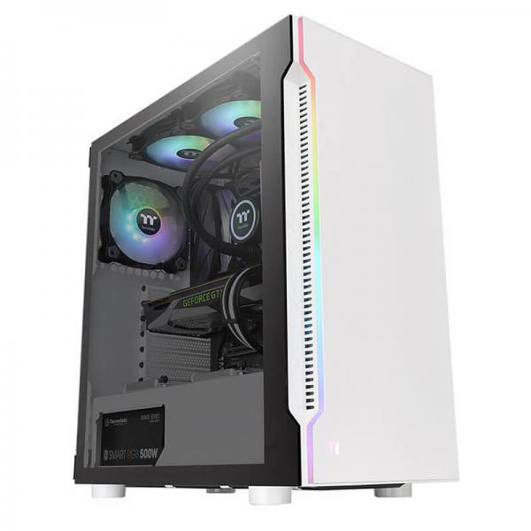 thermaltake h200tg snow rgb gaming cabinet 3
