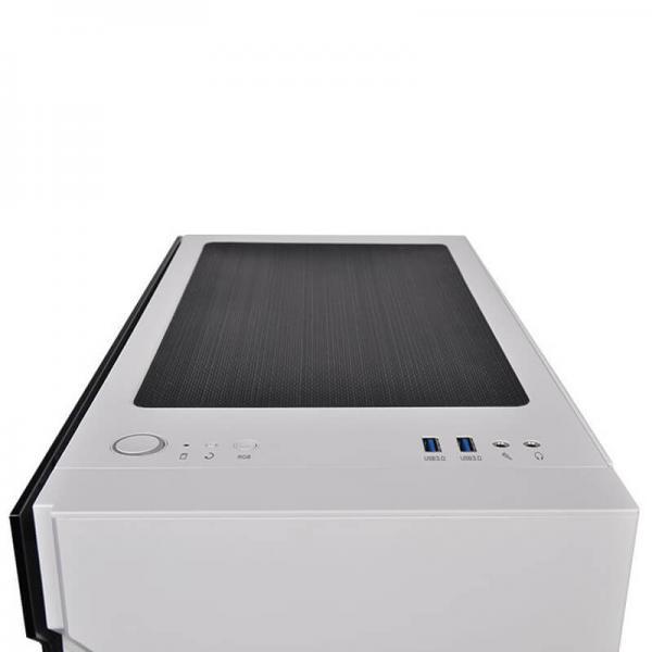 thermaltake h200tg snow rgb gaming cabinet 6