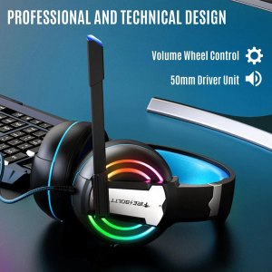 Fire Boltt BGH1000 Wired Headset Gaming Headphone