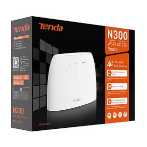 Tenda 4G03 N 300 WiFi 4G LTE Rounter
