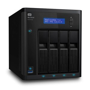 Western Digital WD My Cloud EX4100 Diskless Expert Series 4-Bay Network Attached Storage -NAS
