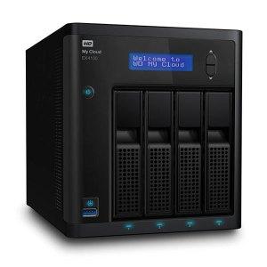 Western Digital WD My Cloud EX4100 Diskless Expert Series 4-Bay Network Attached Storage -NAS
