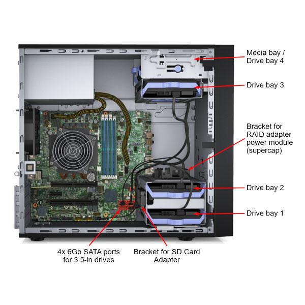 lenovo think system st50 tower server 4