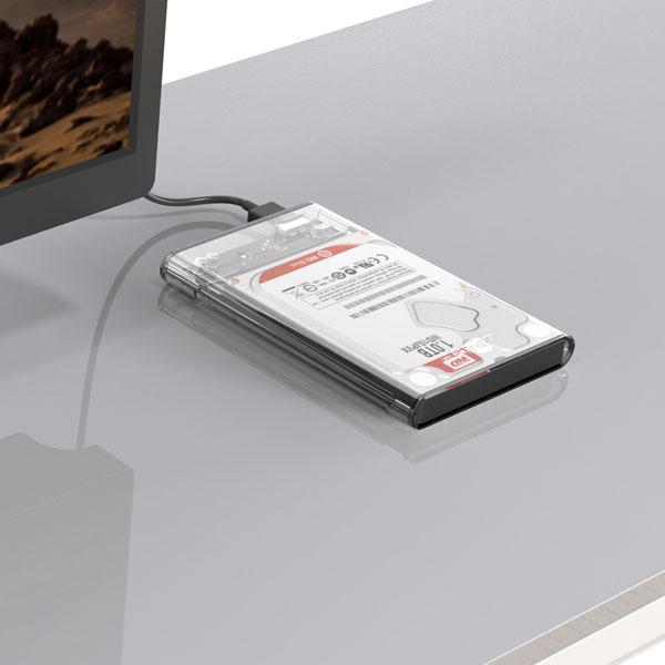orico transparent hard drive enclosure 5