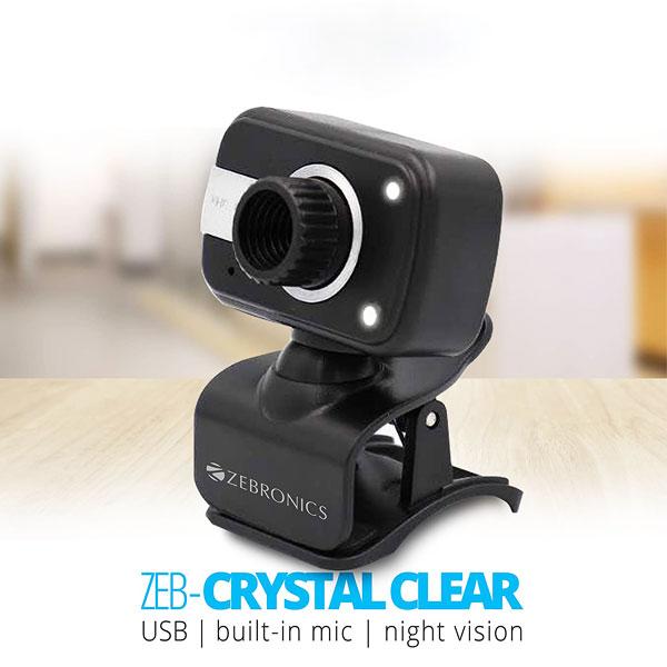 zebronics zeb crystal clear web camera 2