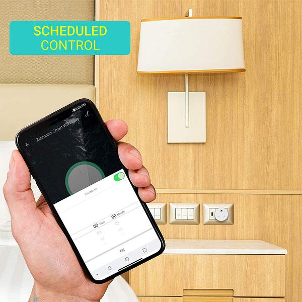 Zebronics Zeb-SP116 Smart Wifi Plug