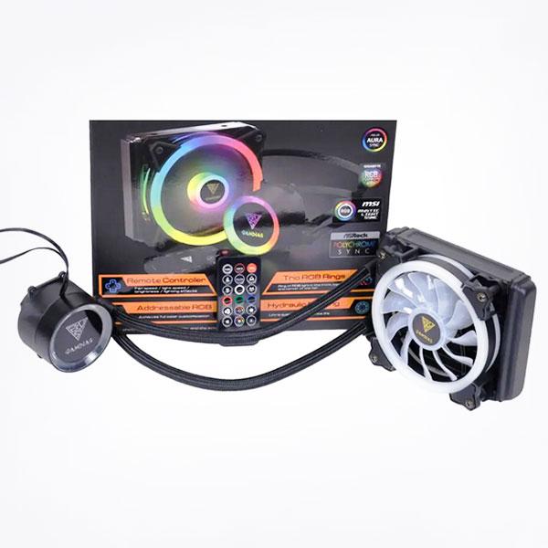 Gamdias Chione E2-120R ARGB 120mm AIO Liquid Cooler With Remote