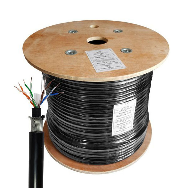 Dlink Cat6 Twisted Pair Armored Cable 305 mtr