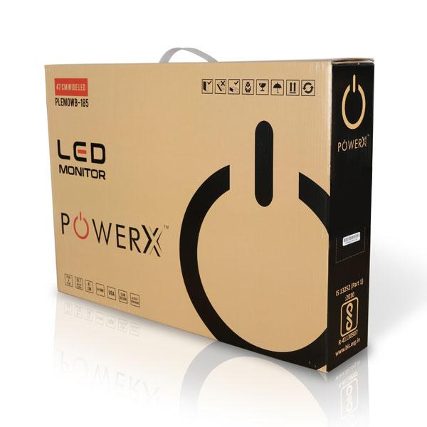 PowerX 18.5inch LED Monitor PLEM0WB-185