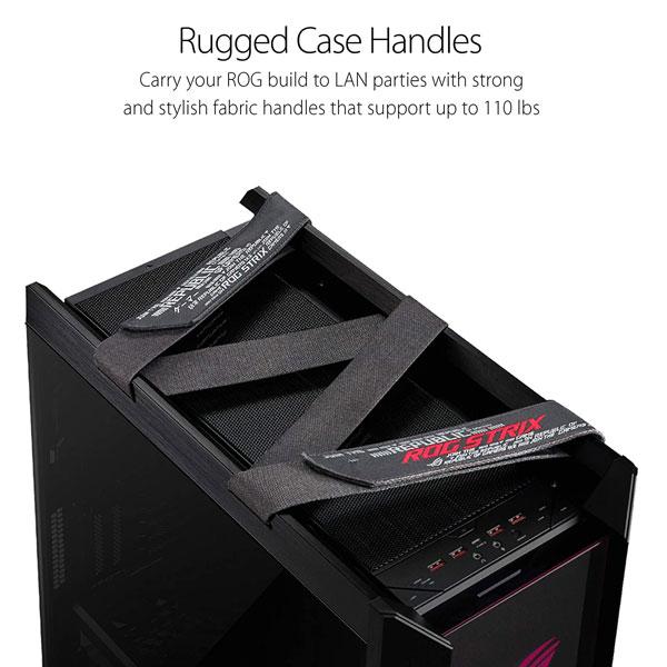 Asus ROG Strix Helios GX601 (E-ATX) Mid Tower Cabinet (Black)