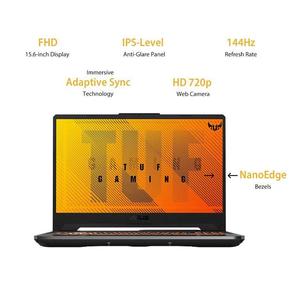 ASUS TUF Gaming A15 Ryzen 7 4800H Gaming Laptop FA566IV-HN449T