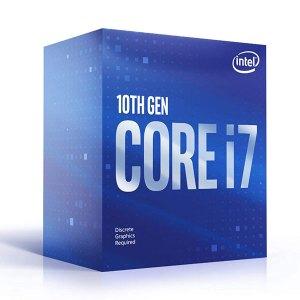Intel Core i7-10700F Desktop Processor 8 Cores up to 4.8 GHz 16 Threads LGA1200