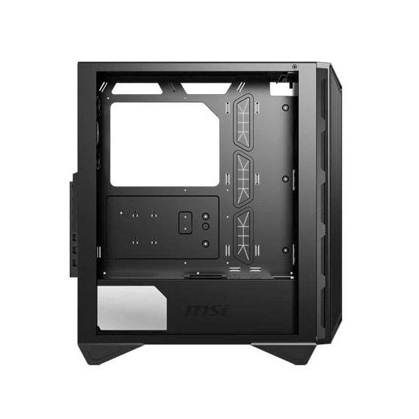 Msi MPG GUNGNIR 110M (ATX) Mid Tower Gaming Cabinet With Tempered Glass Side Panel (Black)