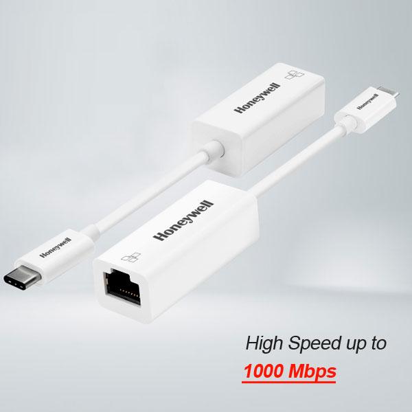 honeywell type c to gigabit ethernet adapter 2