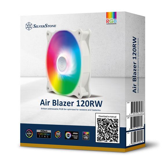 silverstone air blazer 120rw argb case fan 6