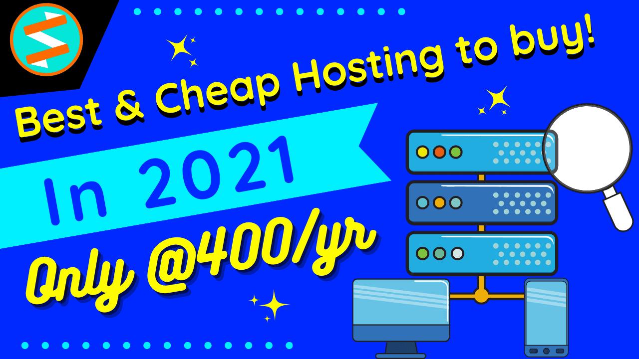 Cheapest WordPress Hosting under 500 India 2021 🔥 [30% Off] via @dmshivamnarayan