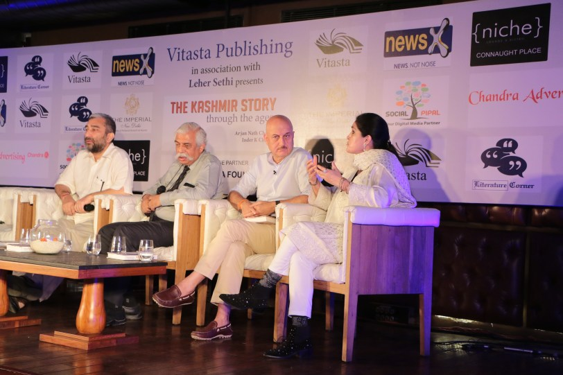 Launch of The Story of Kashmir, through the Ages @ Niche Lounge & Bistro (3).JPG