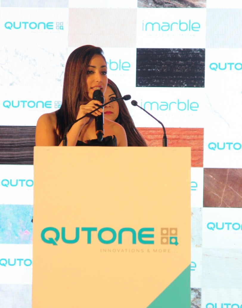Yami Gautam at Qutone I marble launch