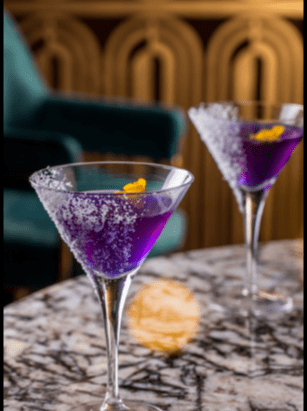 Gin 'n' Violet, anyone?!