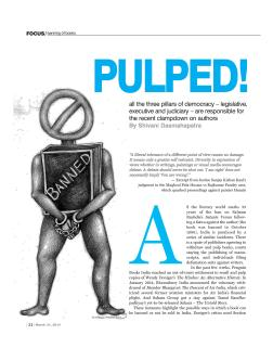 IndiaLegal Magazine | 2014
