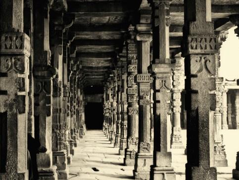Columns at the ruins