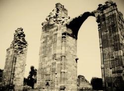 Ruins at the Qutub complex