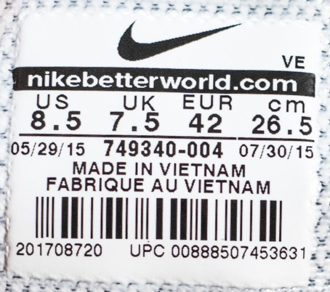 Find Nike UPC & Barcode, including barcode image, product images, Nike related product info and online shopping info.