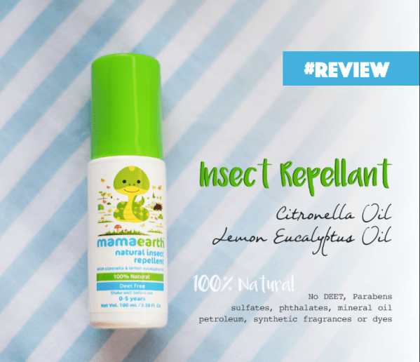 mama earth mosquito repellent review