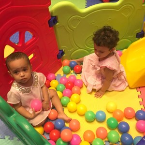 johnsons and johnsons baby play area