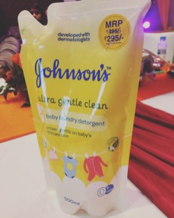 johnsons&johnsons laundry detergent