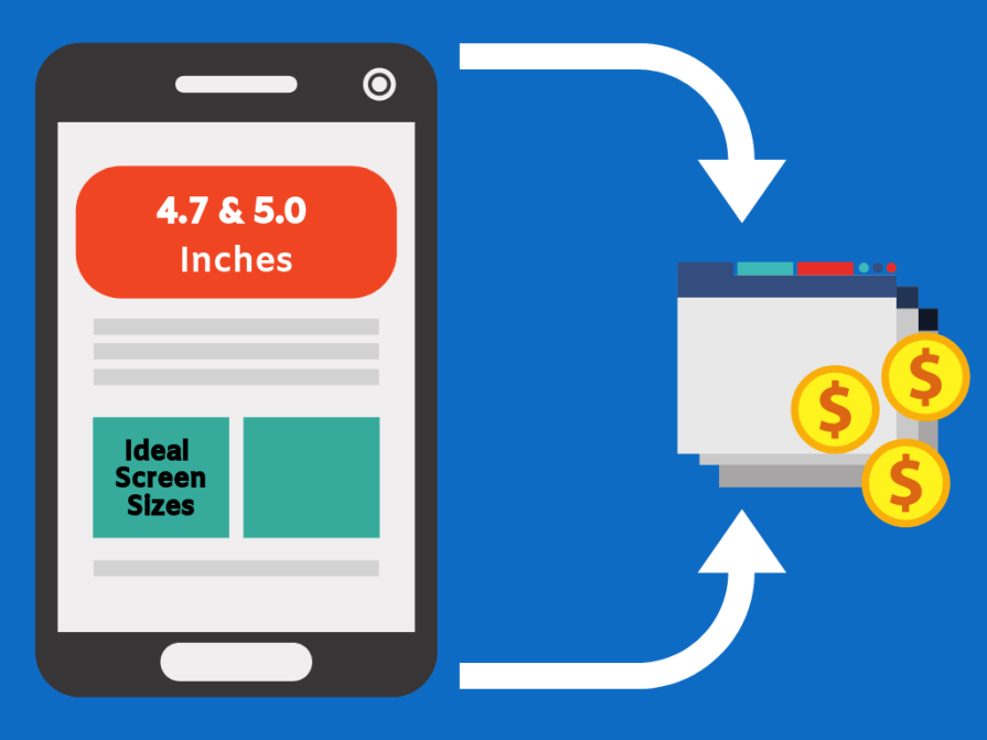 Best screen sizes to optimize your site.