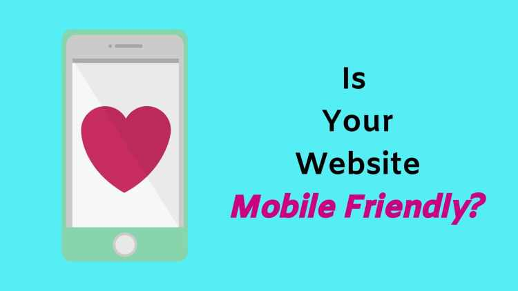 Make your site mobile friendly.