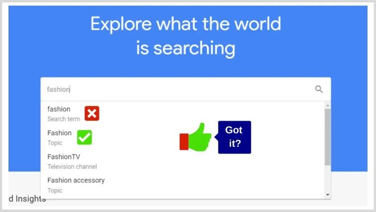 Affiliate Marketing Research Via Google Trends.