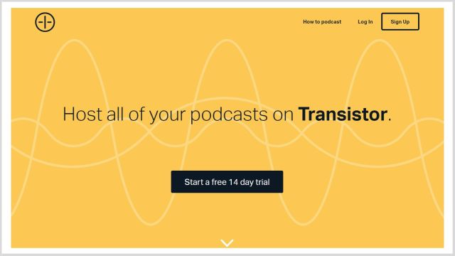 Podcasting hosting. Best podcast hosting you should try.
