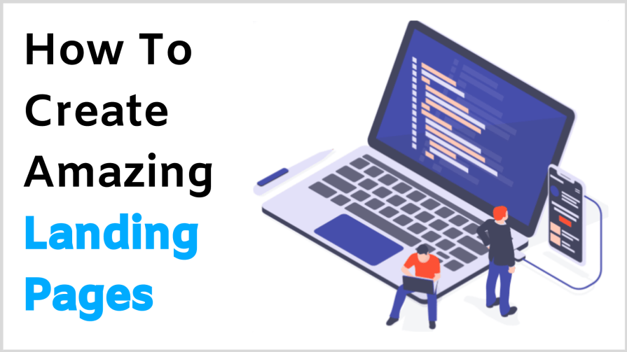 How to create landing pages that convert. This is how to create landing pages.