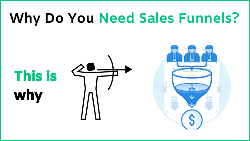 So, why exactly do you need sales funnels? How can they help you in your business?