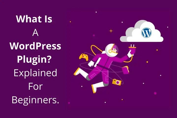 What's a WordPress plugin?