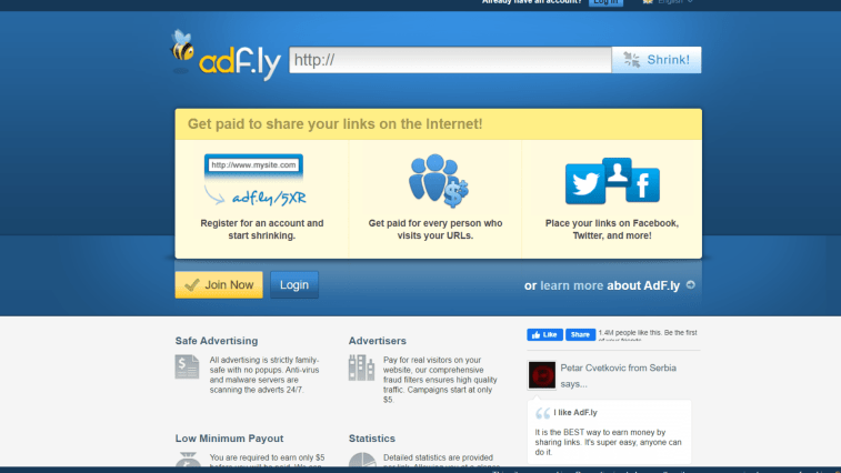AdFly Review: What is AdFly and how you can make money from it.